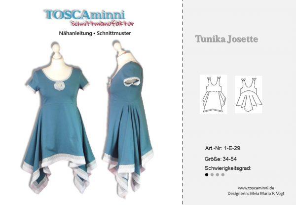 Tunika Kleid Schnittmuster