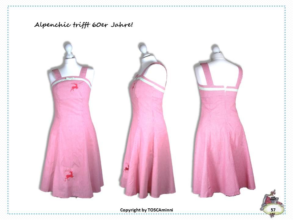 Schnittmuster Trachtenkleid, Nähanleitung Sommerkleid