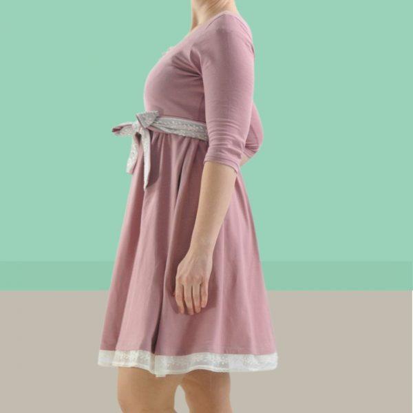 Schnittmuster Jerseykleid Damen