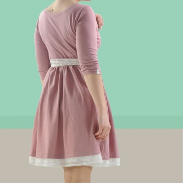 Schnittmuster Jerseykleid Damen A-Linie