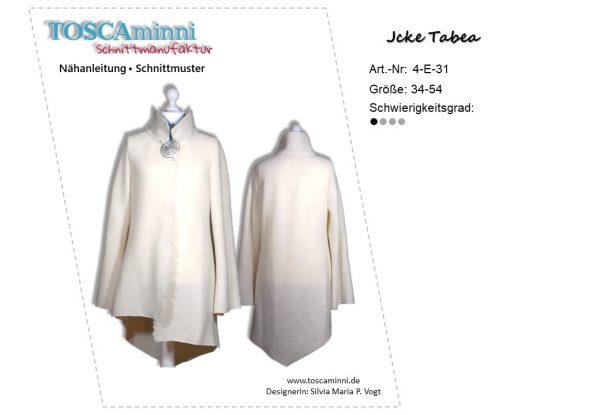 Nähanleitung Jacke Tabea