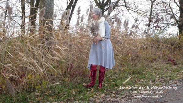 Nähanleitung Damenkleid Gloria Gr. 34-46