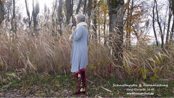Schnitt Damenkleid Gloria Gr. 34-46