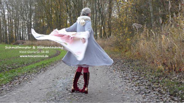 Schnittmuster für Nähanfänger - Damenkleid