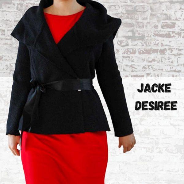 Schnittmuster Damen Jacke mit Kapuze