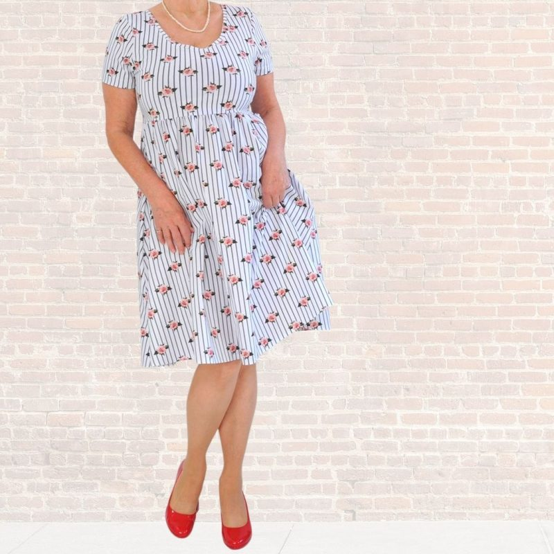 Schnittmuster Kleid einfach