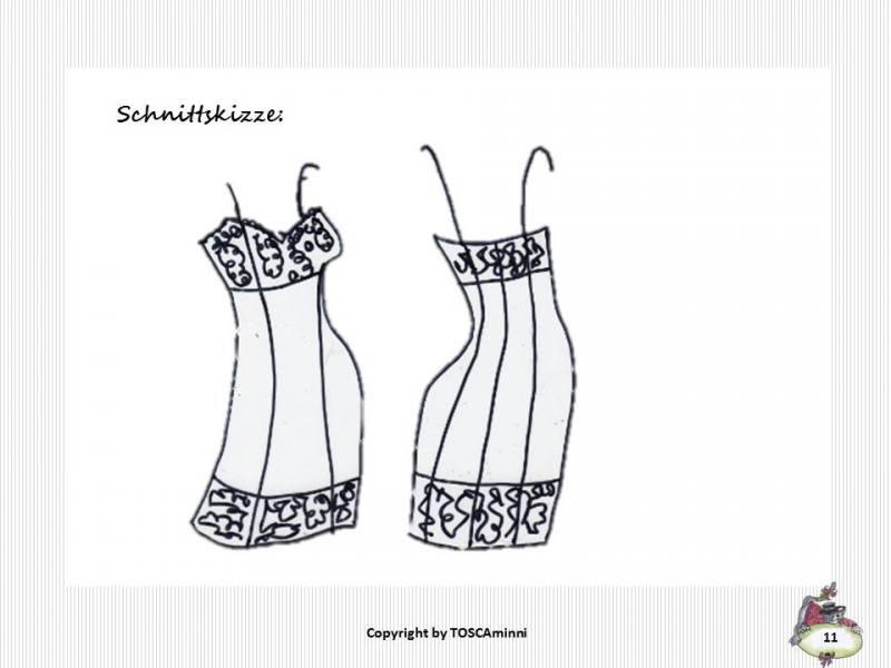 Attractive Schnittmuster Dessous Inspiration - Decke Stricken Muster ...
