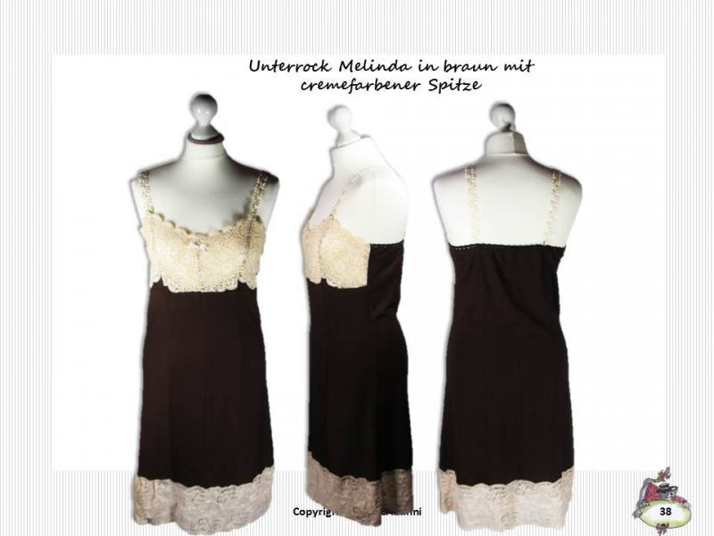 Schnittmuster & Nähanleitung Unterrock Melinda (Gr. 34-46 ...