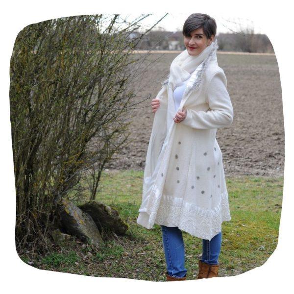 Damen Mantel Papierschnittmuster
