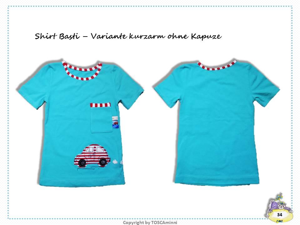 Nähanleitung T-Shirt