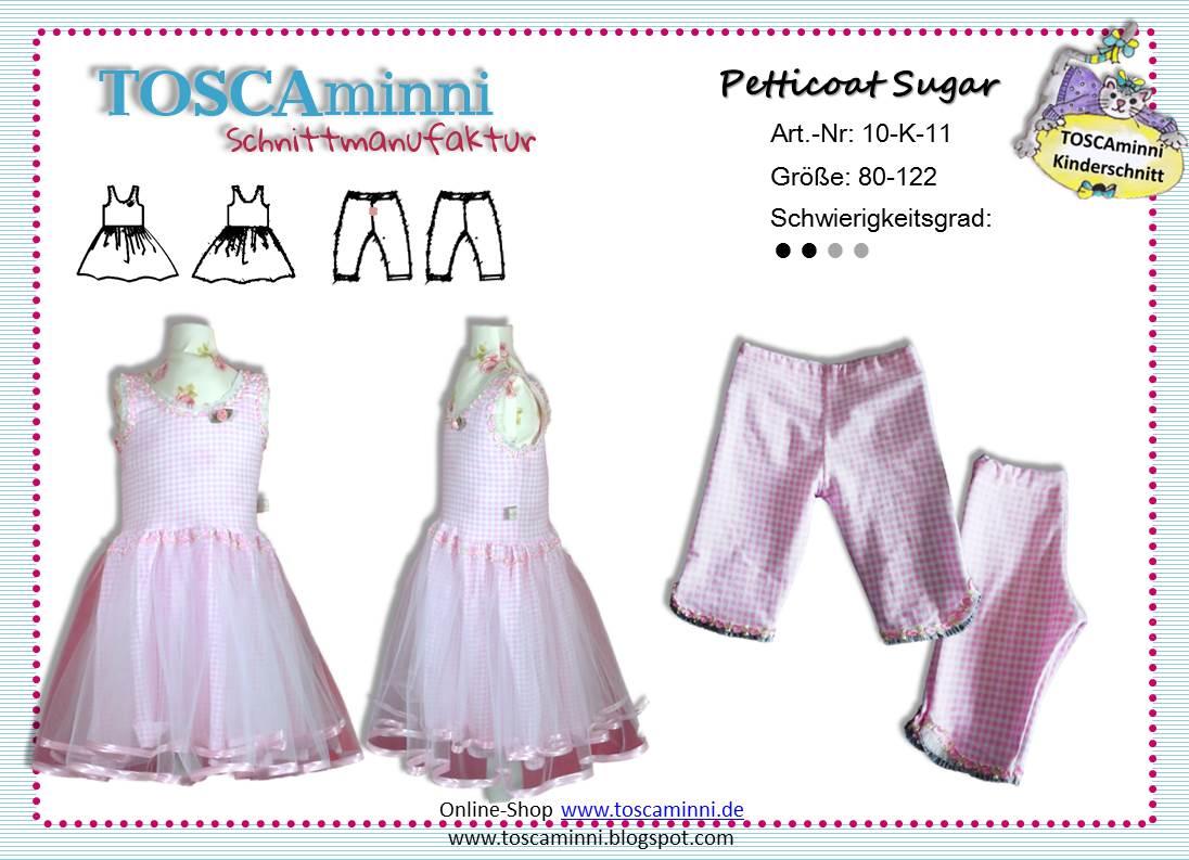 Schnittmuster Ballerinakleid Sugar