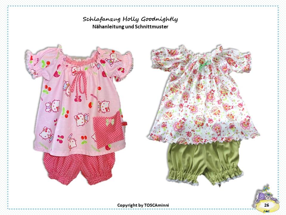 Nähanleitung Kinderschlafanzug