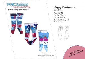 Schnittmuster Socken