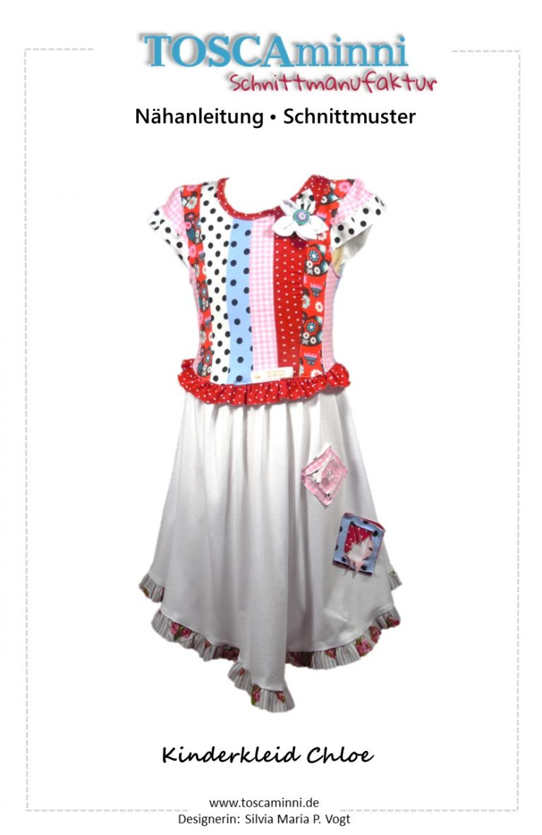 Schnittmuster Kinderkleid Chloe