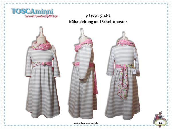 Schnitt Kinderkleid, Schnitt Drehkleid