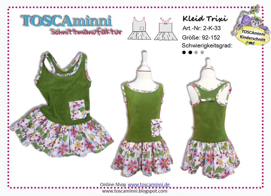 Ebook Kinderkleid Trixie