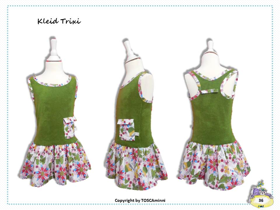 Nähanleitung Kinderkleid Trixie