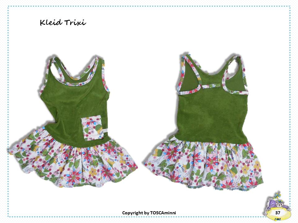 Schnittmuster Kinderkleid Trixie
