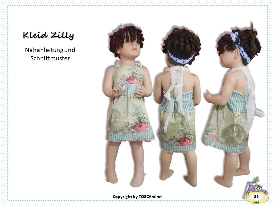 Schnitt Kinderkleid Neckholder