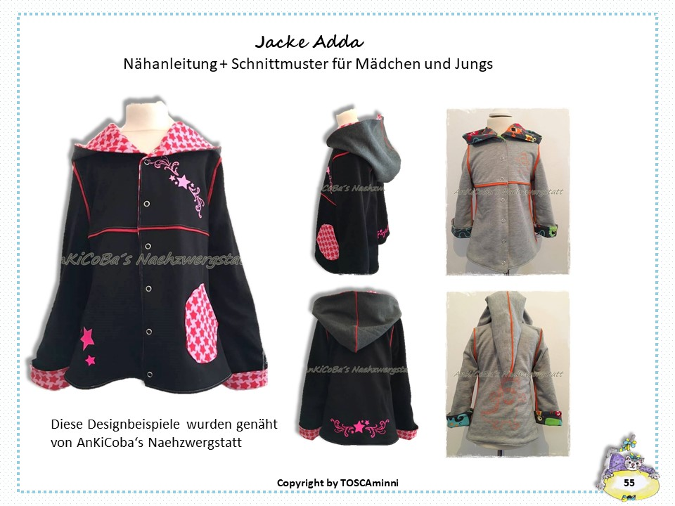 Ebook Kinderjacke Adda