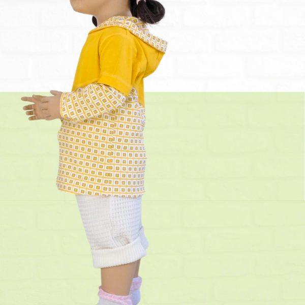 Schnittmuster Shirt mit Kapuze