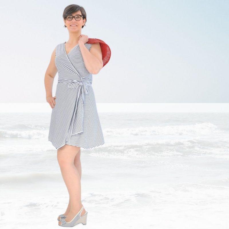 Schnittmuster Strandkleid damen