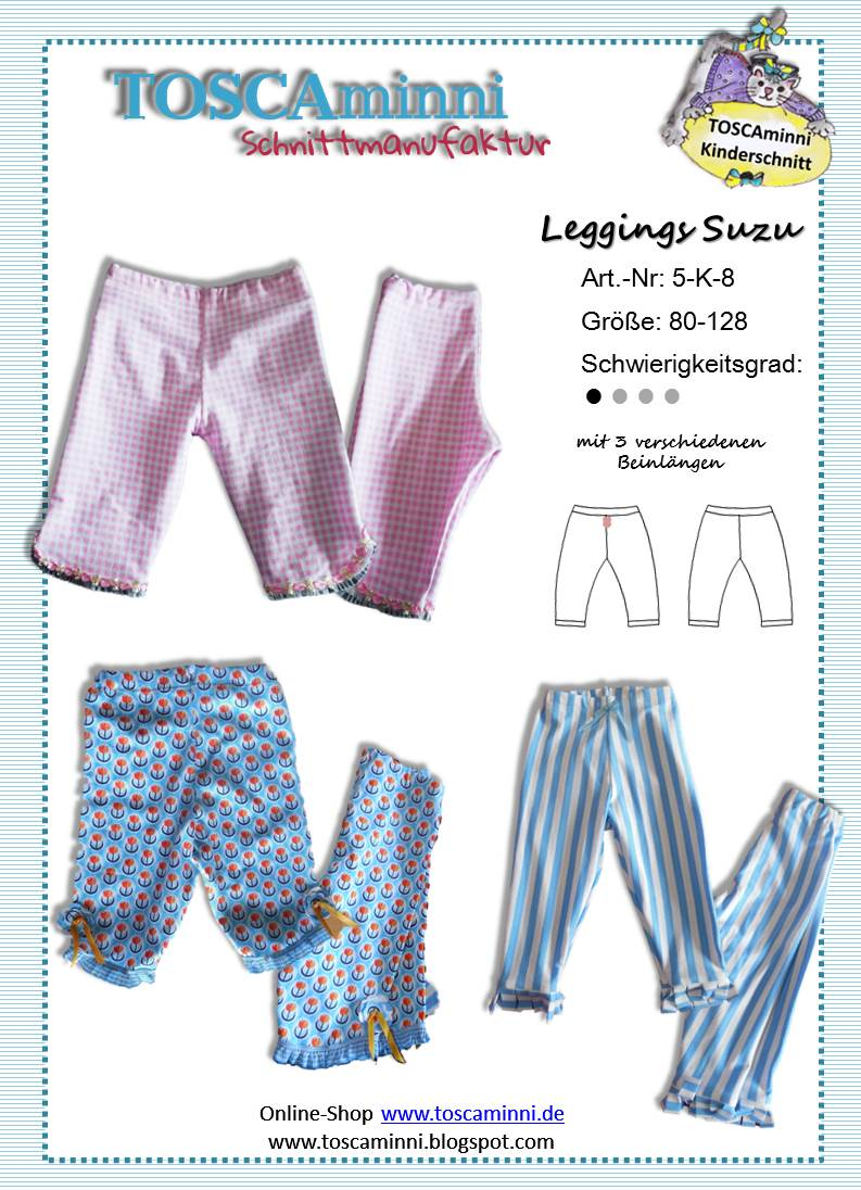 Schnittmuster Kinderleggings