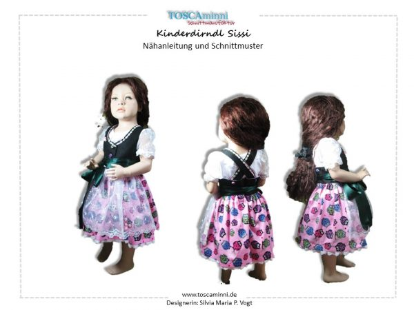 Ebook Kinderdirndl Sissi