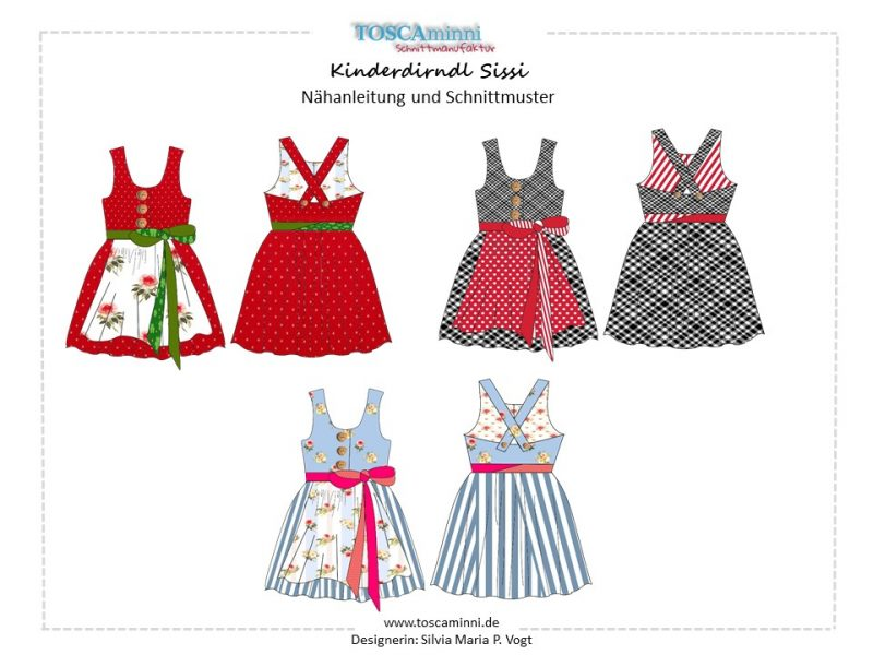 Ebook Kinderdirndl