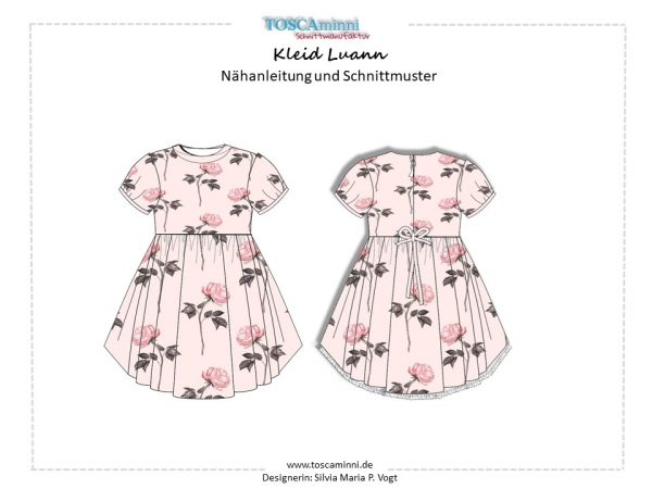 Ebook Kinderkleid Louann