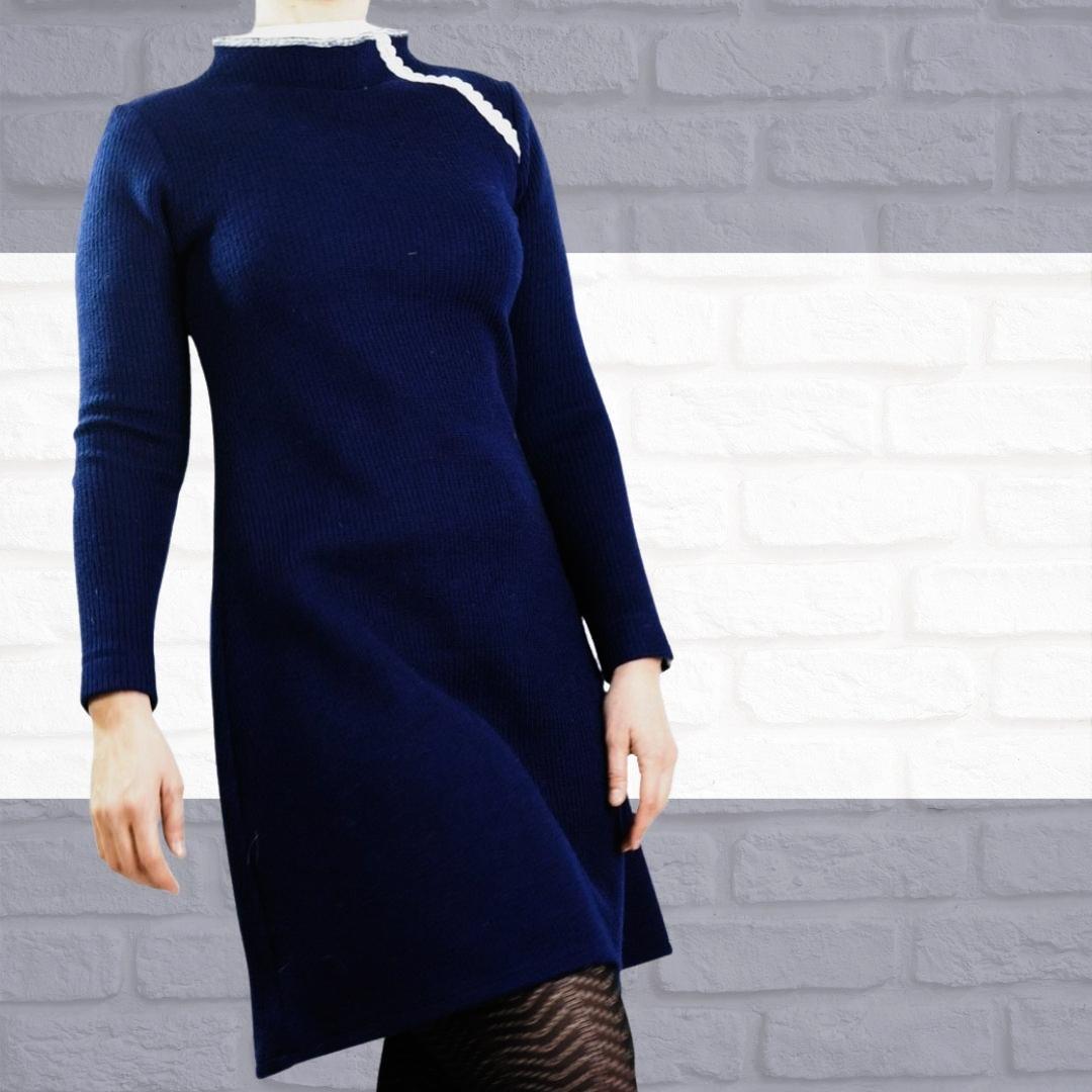 Damenkleid Estelle Gr 34 46 Schnittmuster Nahanleitung A Linienkleid Toscaminni Schnittmanufaktur