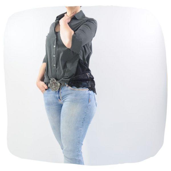 Schnittmuster Bluse Damen Hemd