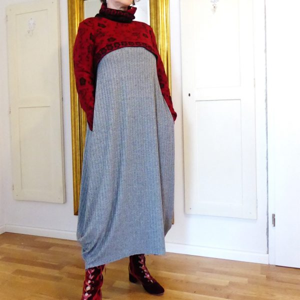 Schnittmuster Kleid lang Damen
