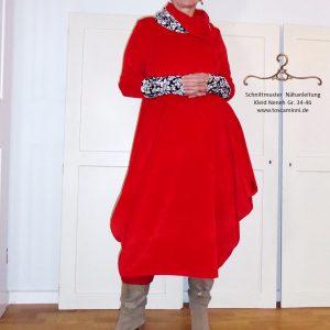Schnittmuster langes Kleid
