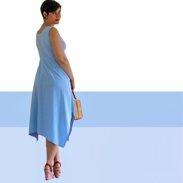 Schnittmuster Kleid jersey damen