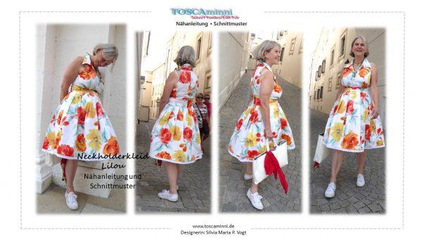 Nähanleitung Damenkleid vintage