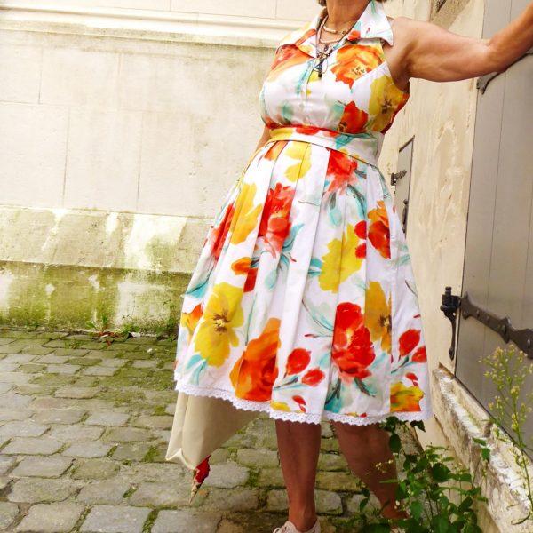 Schnitt Rockabilly Kleid