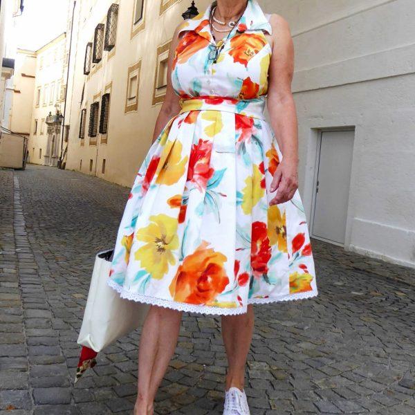 Schnittmuster Petticoat Kleid Damen