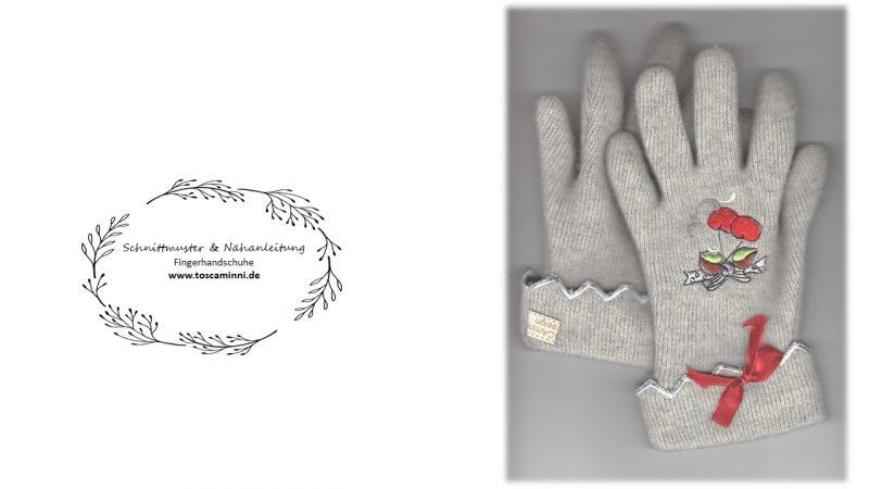 Stickdatei Fingerhandschuhe