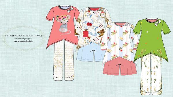 Nähanleitung Schlafanzug