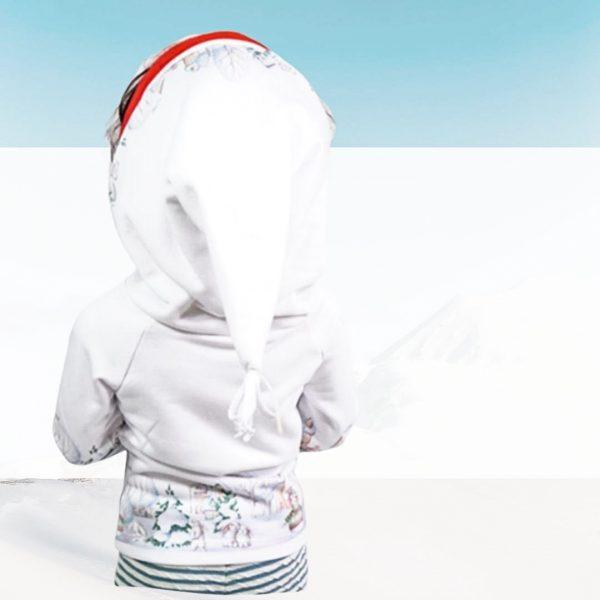 Nähanleitung Kinder Hoodie Zipfelkapuze