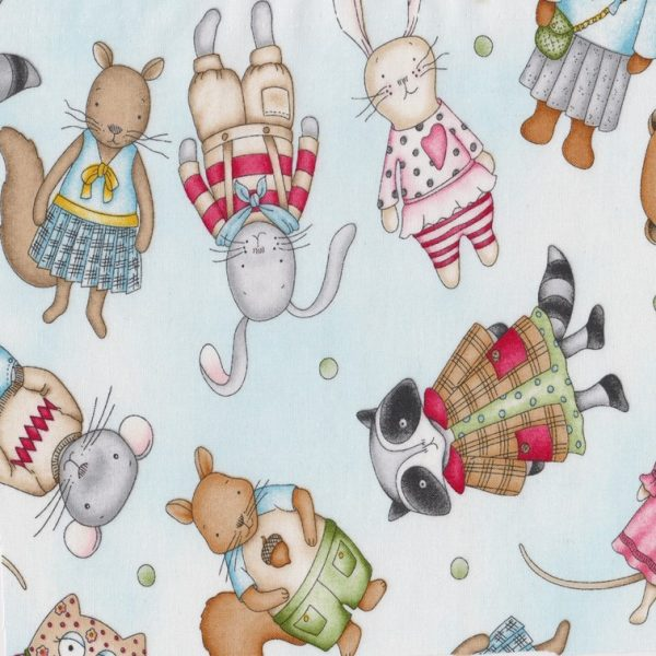 Baumwolle Tiere