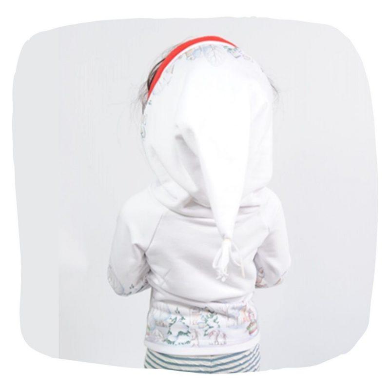 Schnittmuster Kindershirt mit Zipfelkapuze