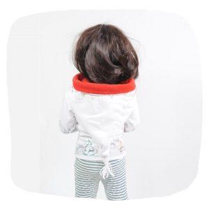 Kindershirt mit Kapuze Nähanleitung