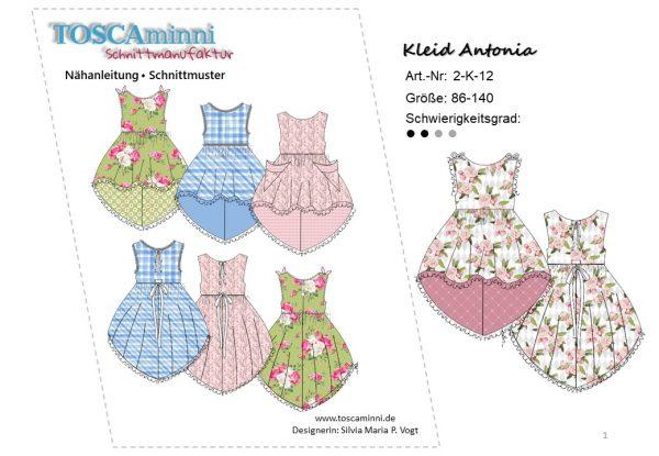 Ebook Kinderkleid Antonia