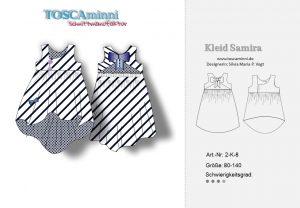 Schnittmuster Kleid Samira