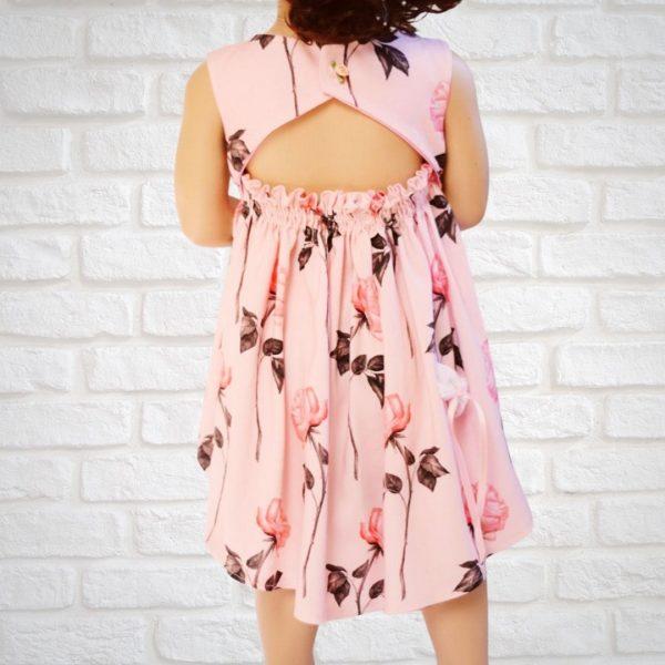 Schnittmuster Kleid Mädchen Sommer