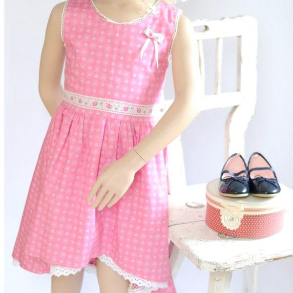 Schnittmuster Kleid Kind Sommer