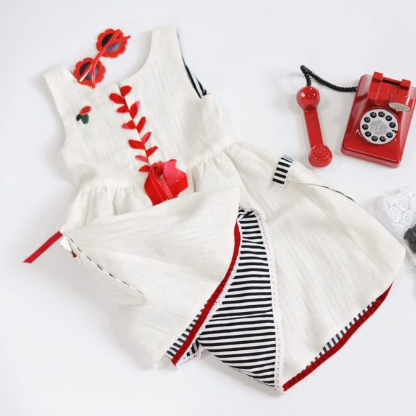 Schnittmuster Kleid Mädchen