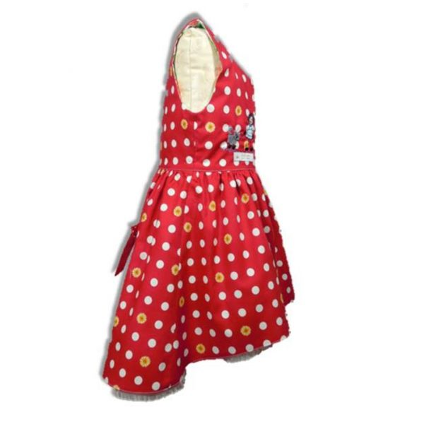 Kinderkleid asymmetrisch Schnitt